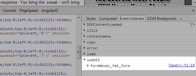 form-submit-event-view-in-chrome